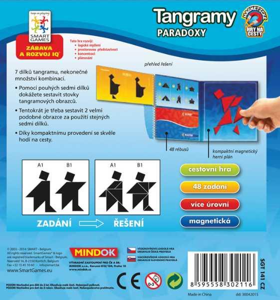 Dětské hlavolamové smart hry - Tangramy: Paradoxy
