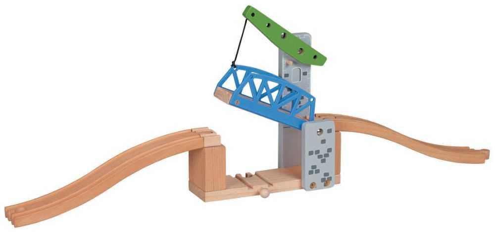 Maxim Dřevěný padací most