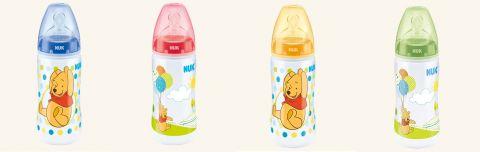 NUK First Choice Plus Medvídek Pú láhev 300 ml