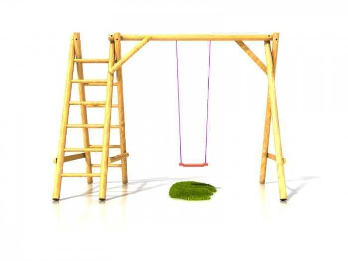 Dřevěné dětské hřiště - Stavebnice dětská houpačka Ondra