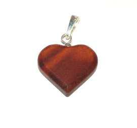 Dřevěný přívěšek srdce malé