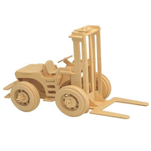 Woodcraft Dřevěné 3D puzzle vysokozdvižný vozík