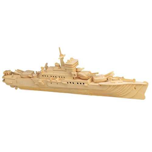 Woodcraft Dřevěné 3D puzzle loď křižník