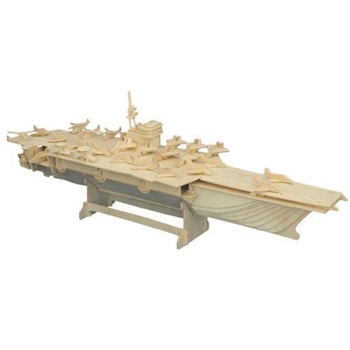 Woodcraft Dřevěné 3D puzzle letadlová loď
