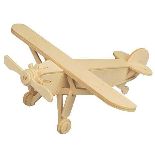 Woodcraft Dřevěné 3D puzzle letadlo