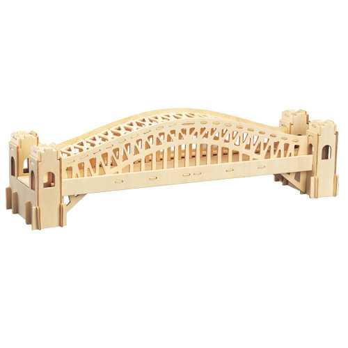 Woodcraft Dřevěné 3D puzzle most Sydney