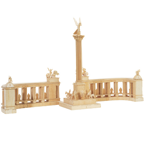 Dřevěné skládačky 3D puzzle - Millennium Monument P087
