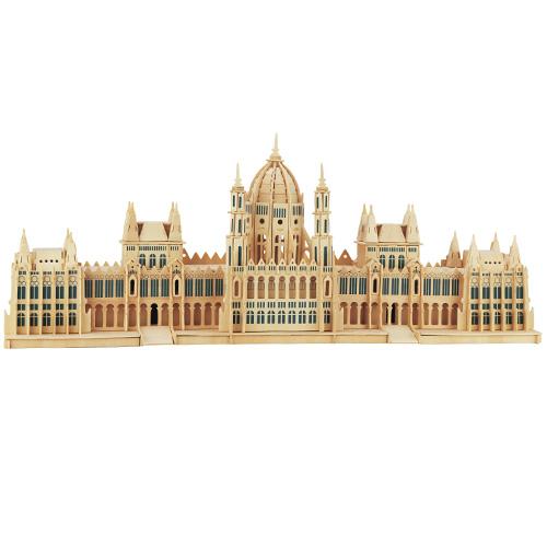 Dřevěné skládačky 3D puzzle - Parlament v Budapešti P088