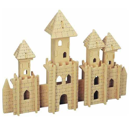 Woodcraft Dřevěné 3D puzzle slavné budovy zámek