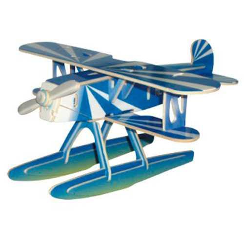 Woodcraft Dřevěné 3D puzzle Heinkel
