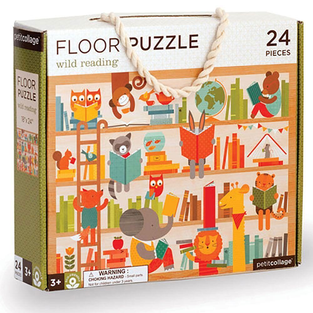 Petitcollage Podlahové puzzle divoké čtení