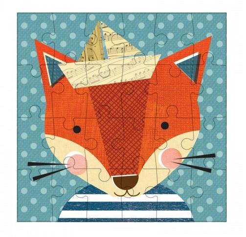 Petitcollage Puzzle liška