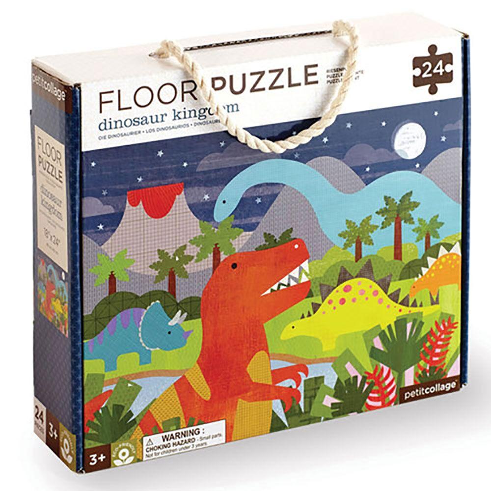 Petitcollage Podlahové puzzle království dinosaurů