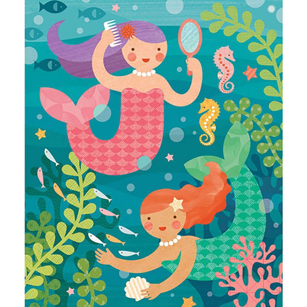 Petitcollage Puzzle v tubě  Hravé mořské panny