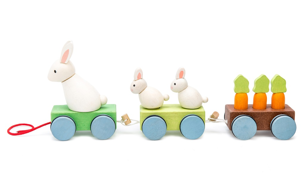 Le Toy Van Petilou Vláček králíček