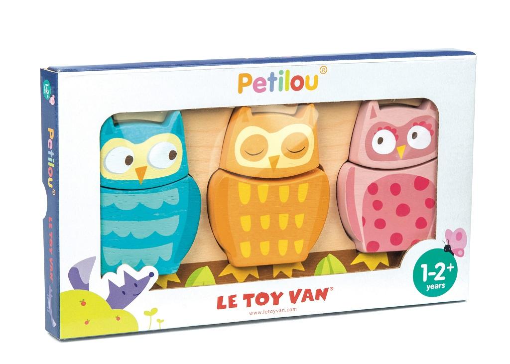 Le Toy Van Petilou puzzle sovičky