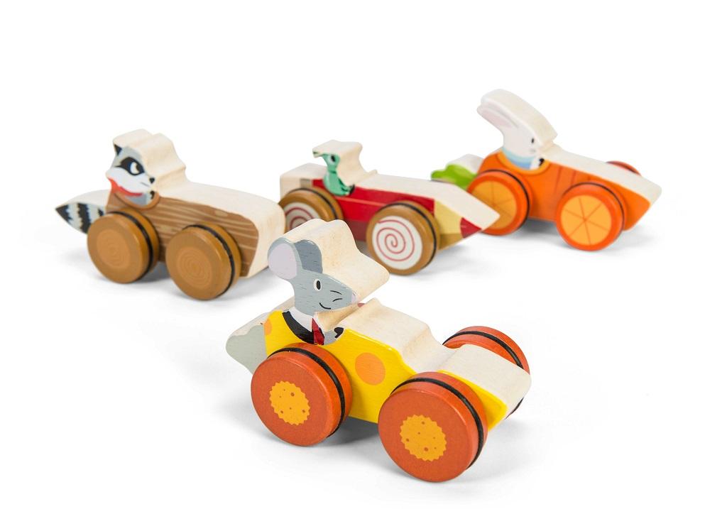 Le Toy Van Petilou autíčko 1ks červená