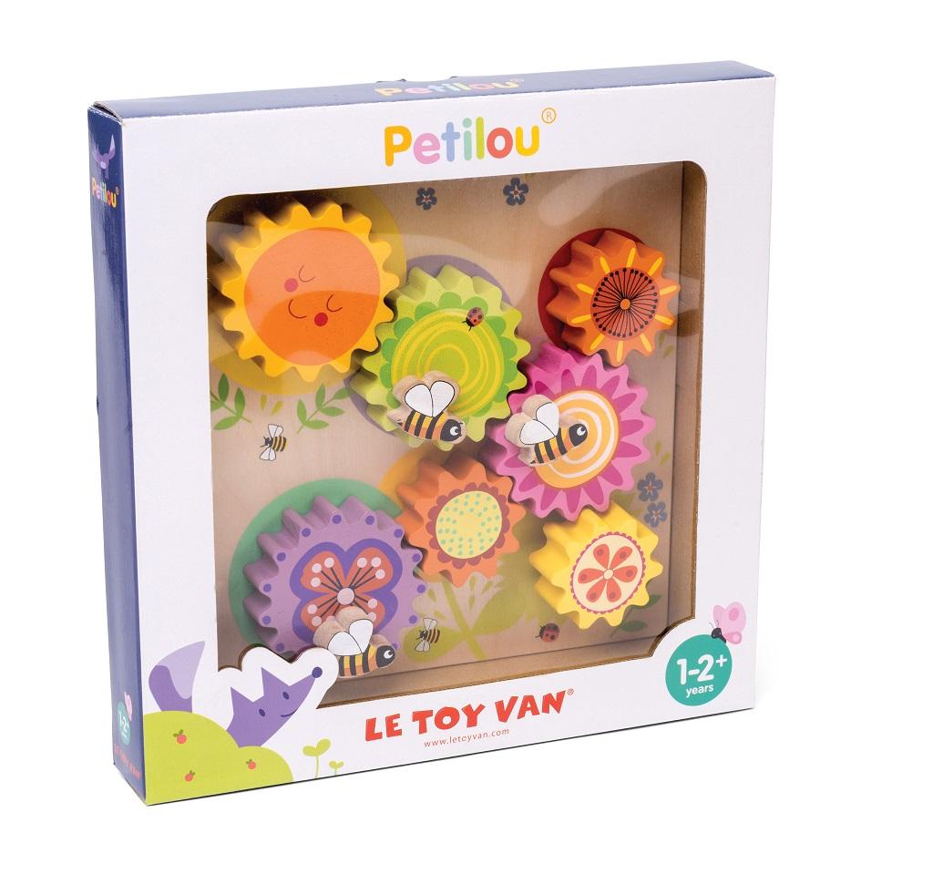 Le Toy Van Petilou Ozubená kola včelka