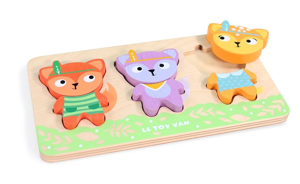 Le Toy Van Petilou Puzzle malé lišky