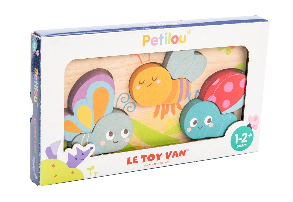 Le Toy Van Petilou Puzzle létající hmyzí kamarádi