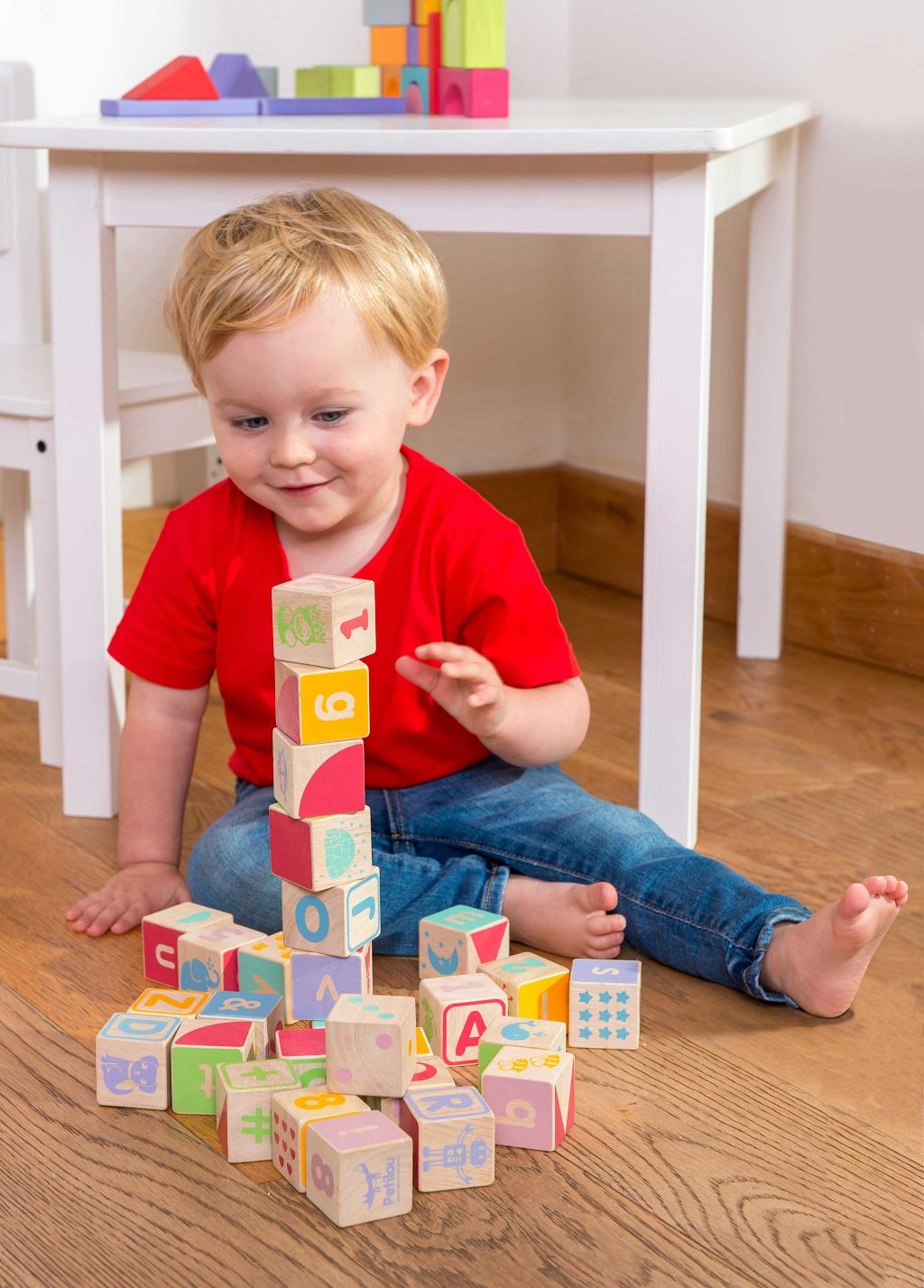 Le Toy Van Petilou Multifunkční kostky