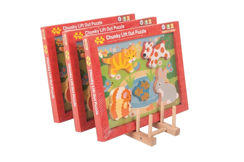 Bigjigs Toys Stojánek na puzzle