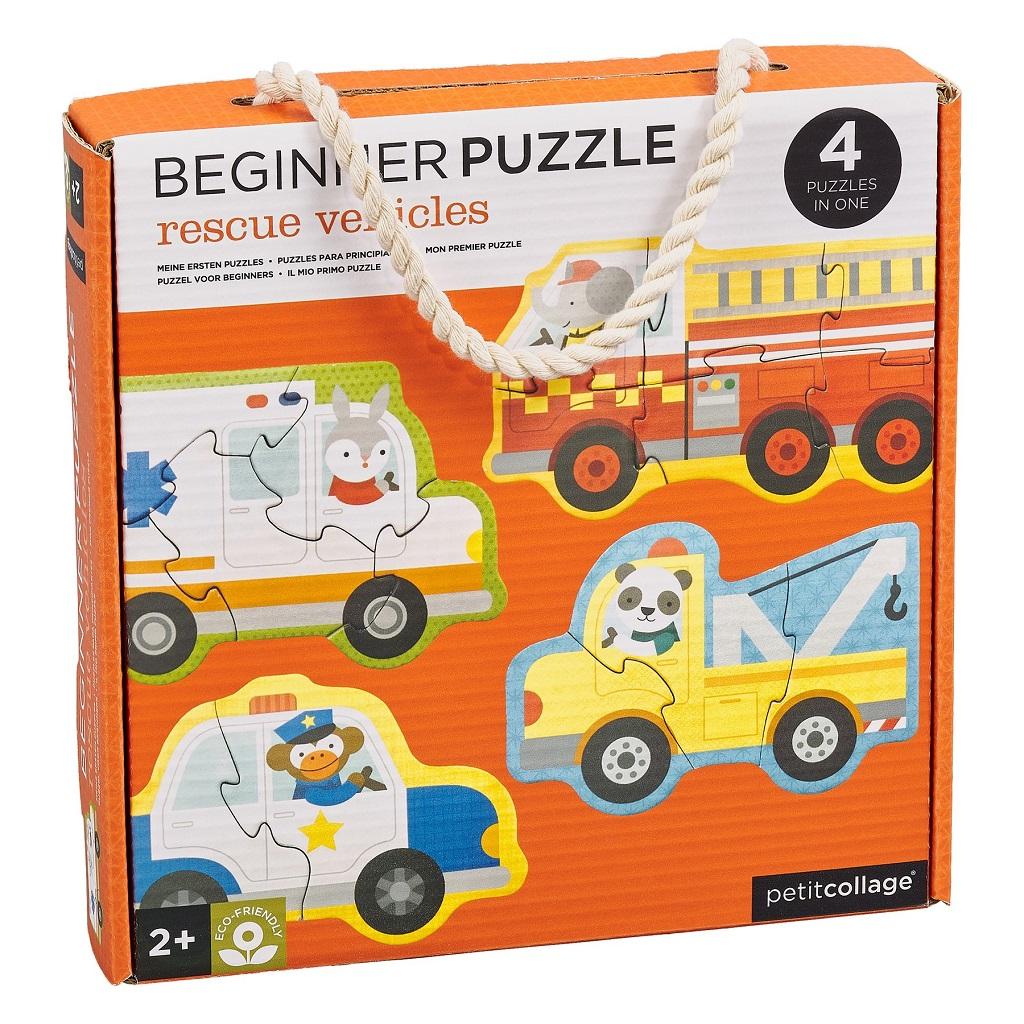 Petitcollage Puzzle záchranná vozidla