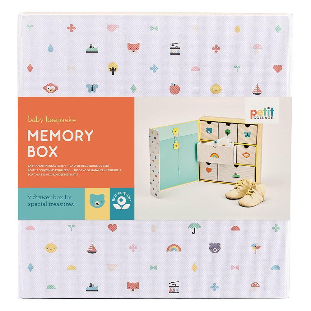 Petitcollage Krabička vzpomínek Baby