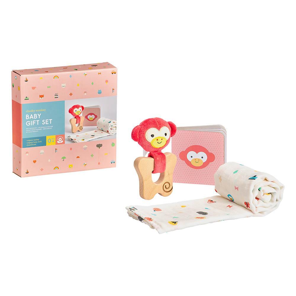 Petitcollage Dárkový set pro miminka opička