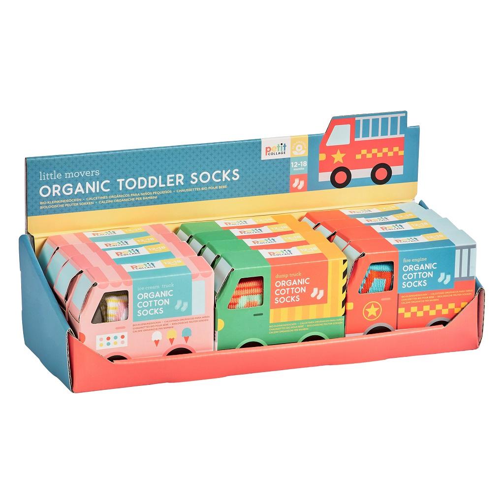 Petitcollage Ponožky Organic 1 pár - různé druhy