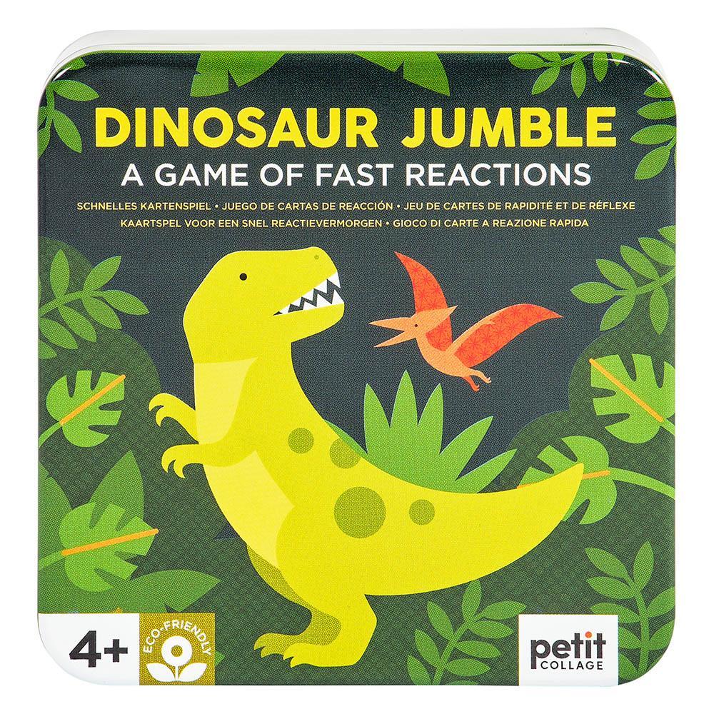 Petitcollage Karetní hra dinosauři