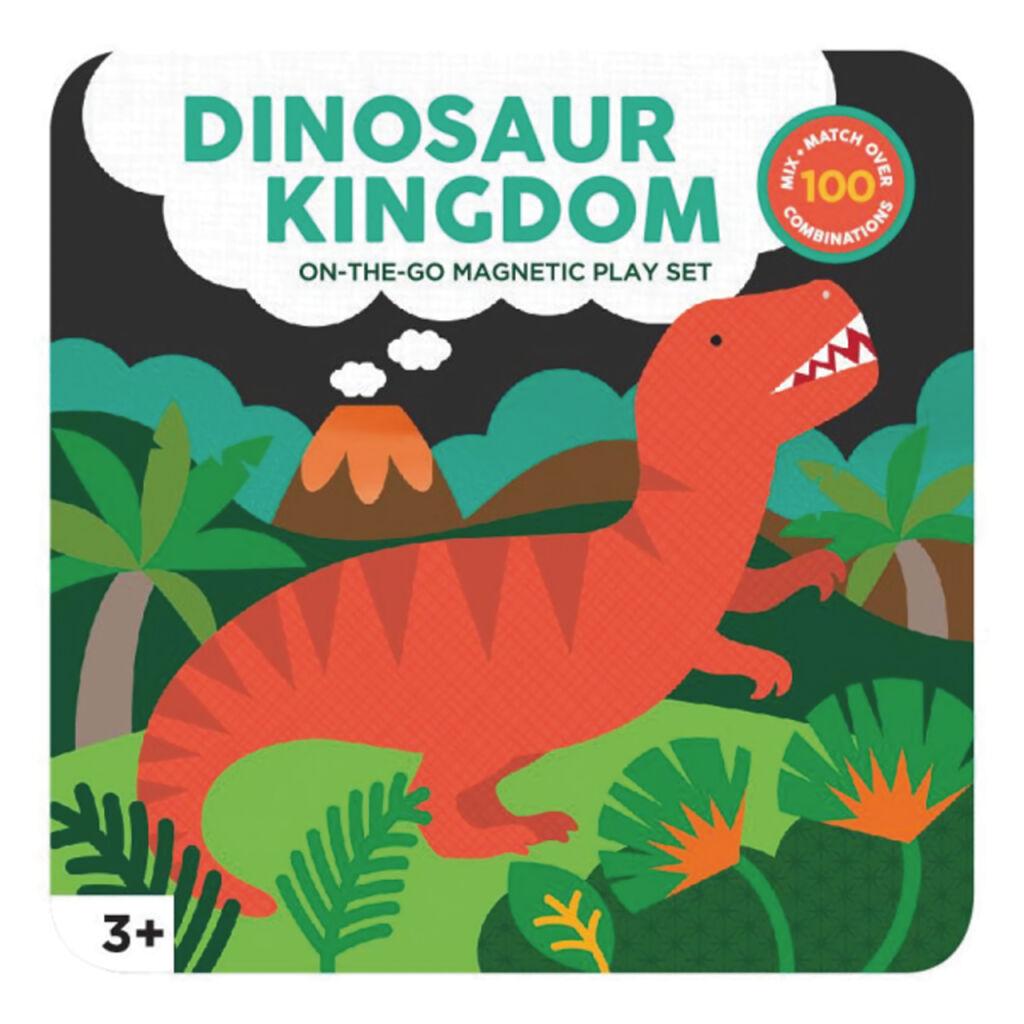 Petitcollage Magnetická hrací sada - dinosauři