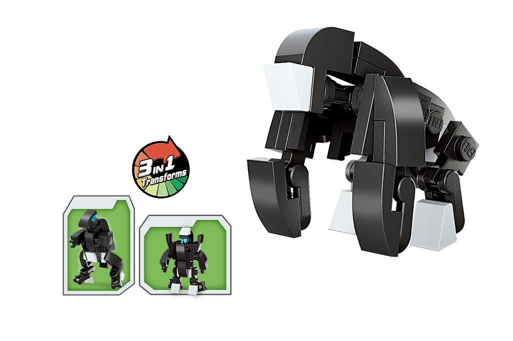 Qman Multivariant Combat Team 2103-9 Gorila 3v1