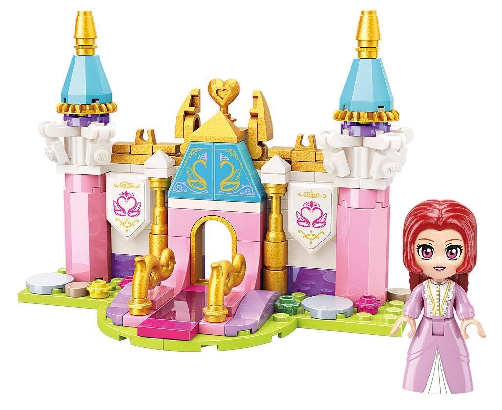 Qman Princess Leah 2613-1 Zámecká brána