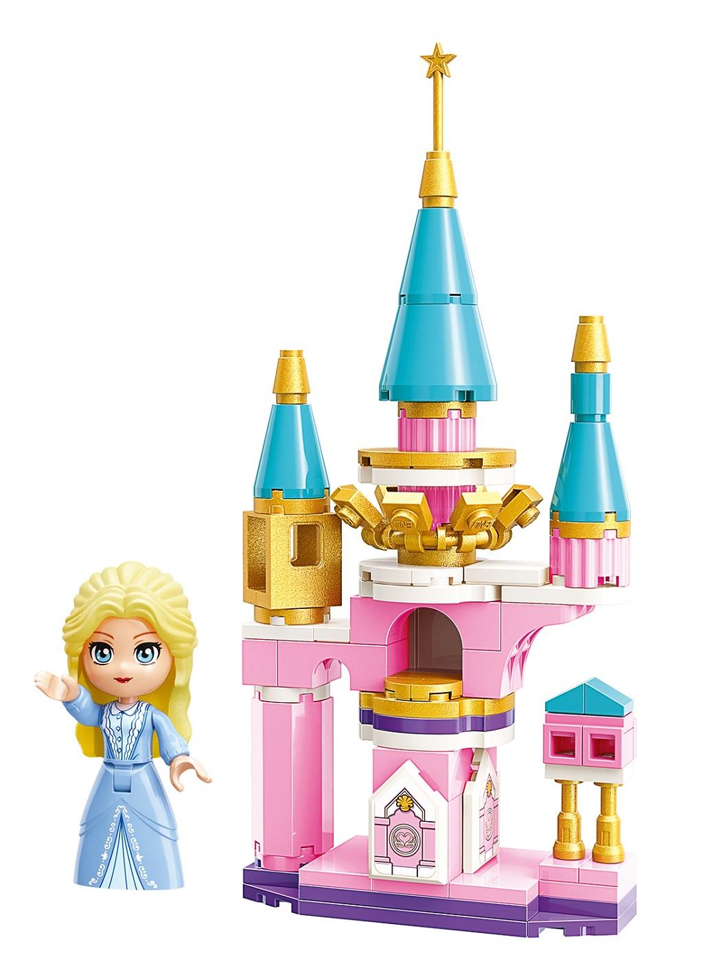 Qman Princess Leah 2613-4 Zámecká věž