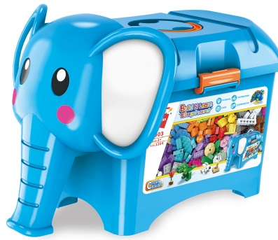Qman Build N Learn 2903 Stavební box slon