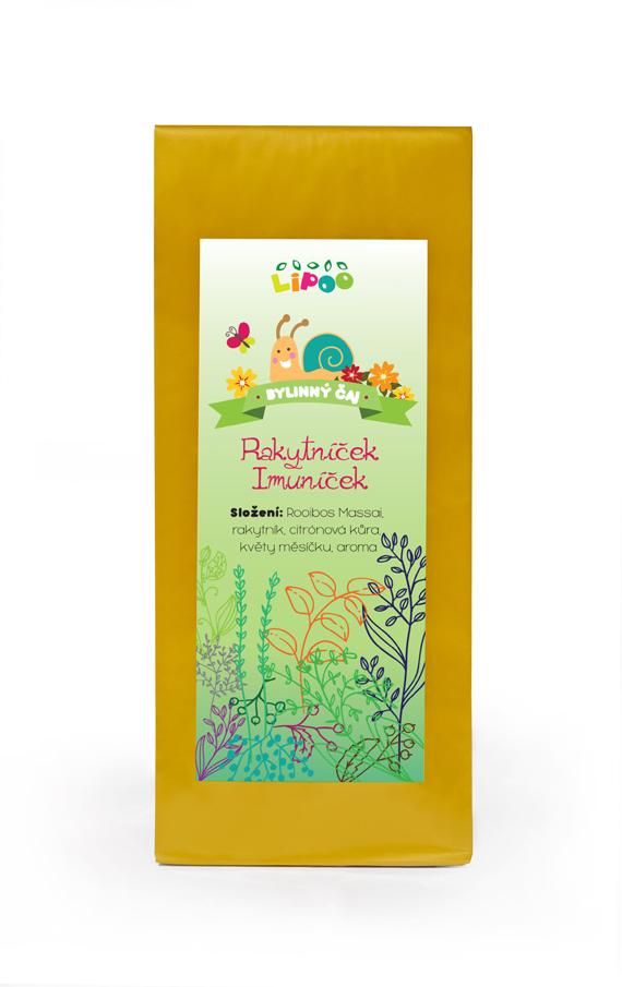 Čaj - Bylinné dětské čaje - Rakytníček Imuníček