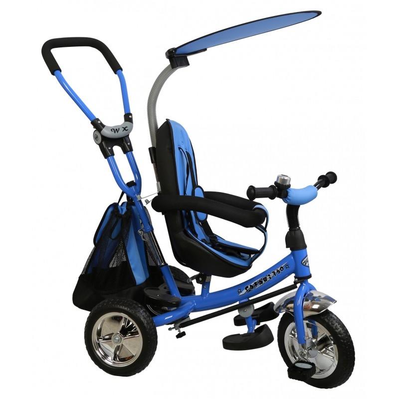 Alexis Dětská trojkolka Safari 360 modrá