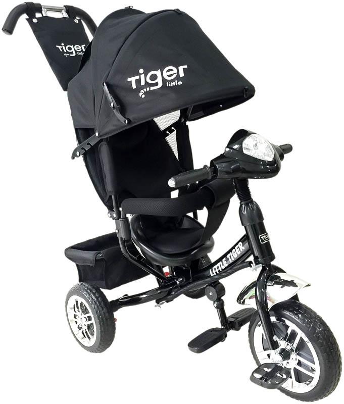 Dětská trojkolka Tiger černá