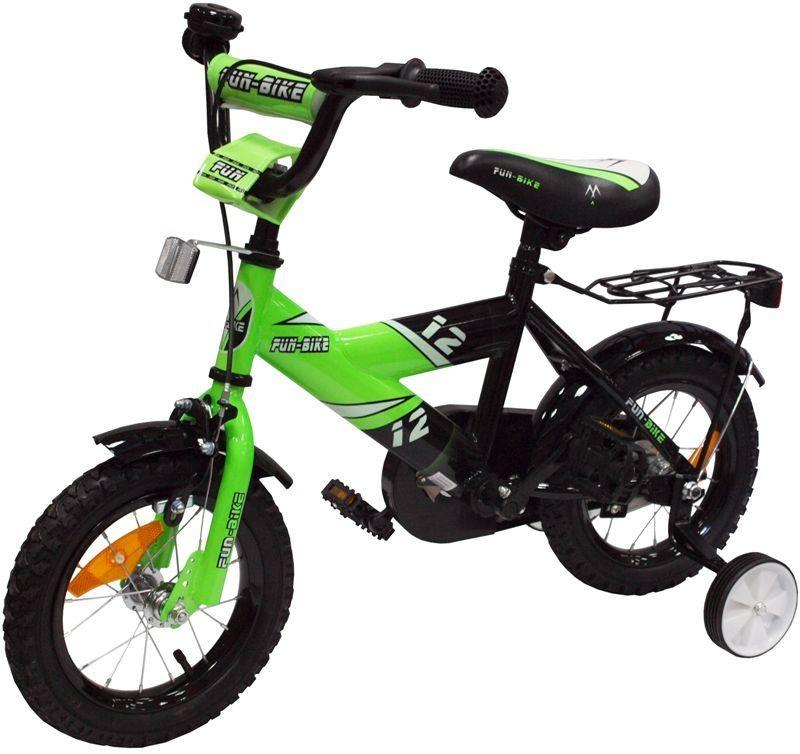 Dětské kolo 1201 Fun bike - zelené