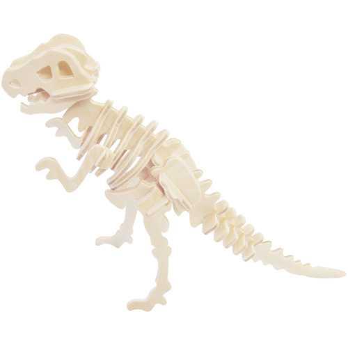 Woodcraft Dřevěné 3D puzzle Tyrannosaurus