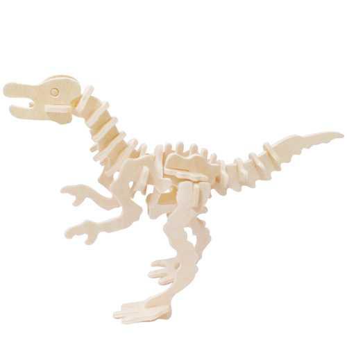 Woodcraft Dřevěné 3D puzzle Ornithomimus
