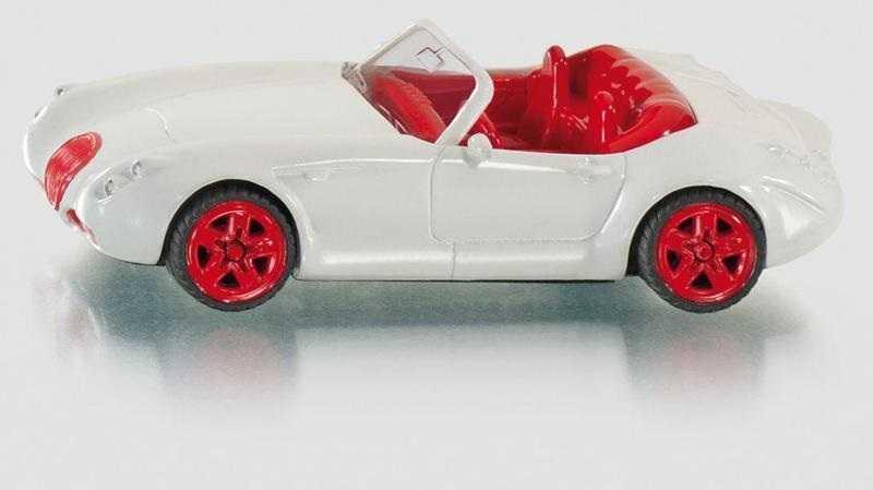 Siku Kovový model auta Wiesmann roadster MF5 1:87