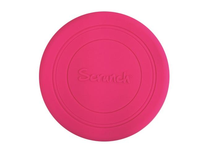 Scrunch Frisbee růžové