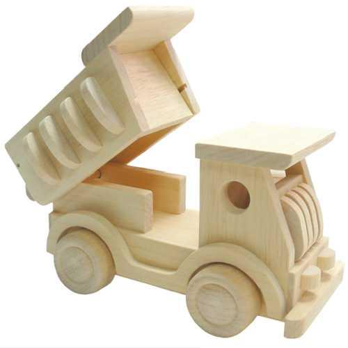 HJ Toys Dřevěné nákladní auto