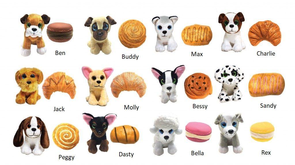 Sweet Pups plyšové vonící štěňátko
