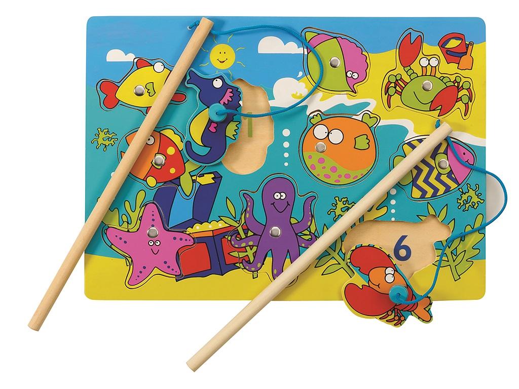 Tidlo Magnetická hra rybičky