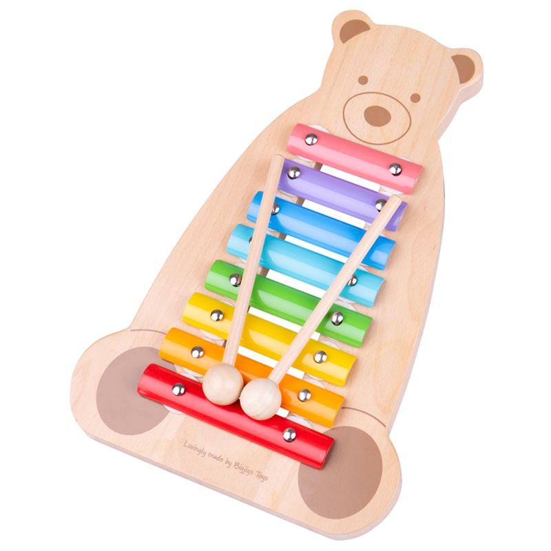 Tidlo Xylofon medvídek