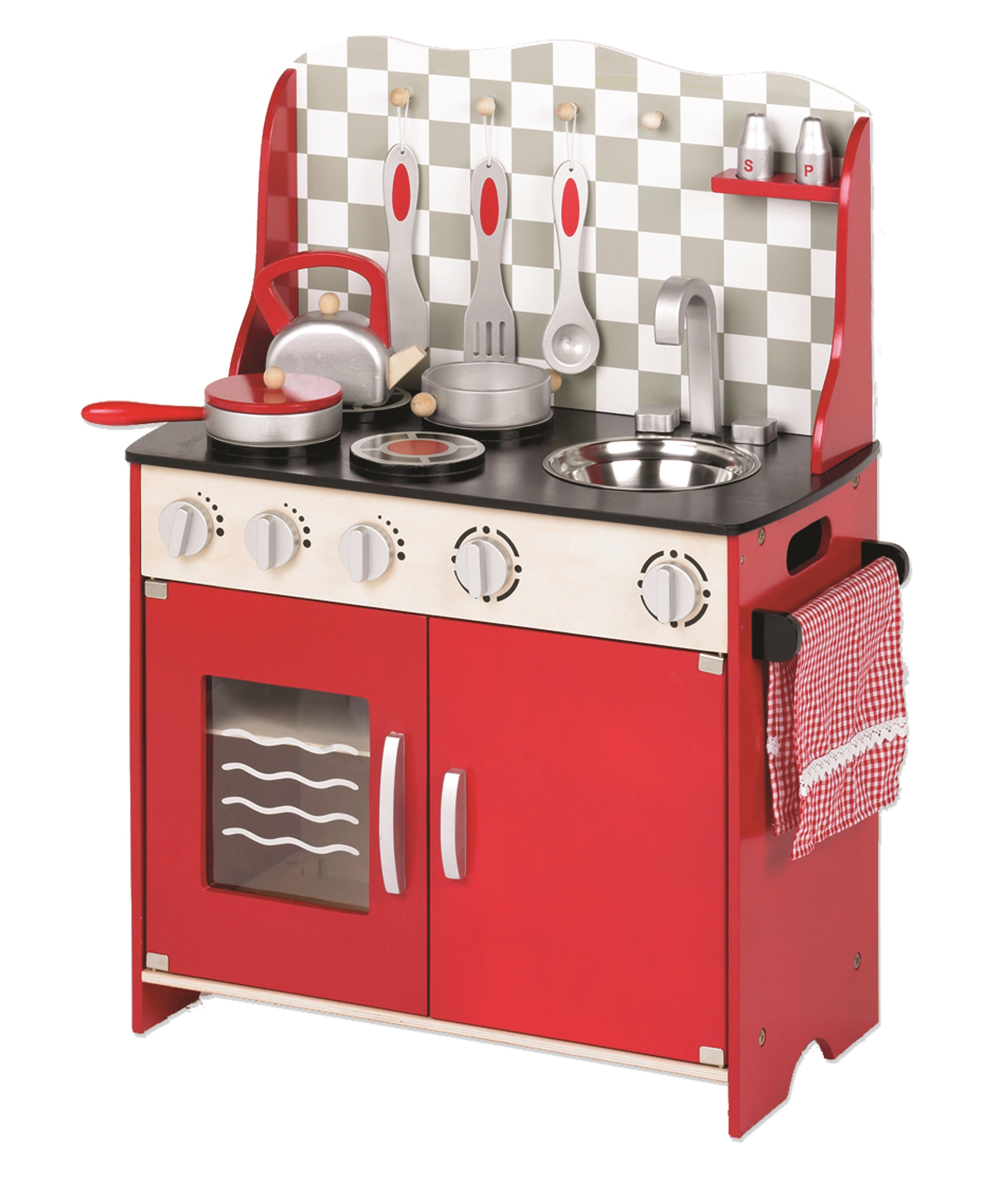 Tidlo Kuchyňka červená