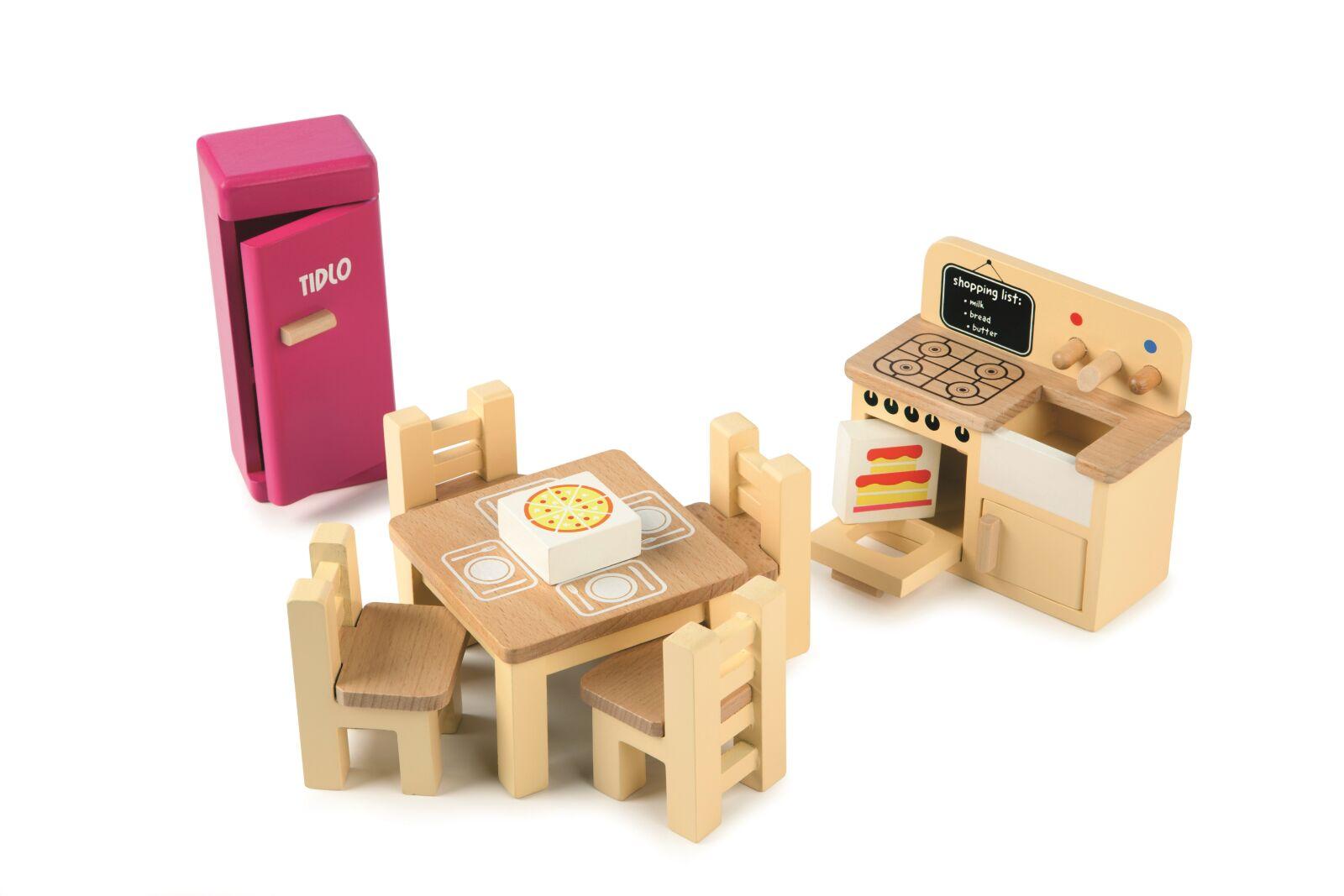 Tidlo dřevěný nábytek - Kuchyňka